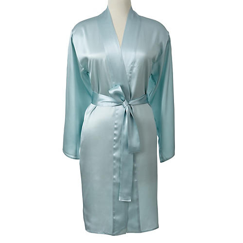 Single-Sided Short Robe, Snowcone