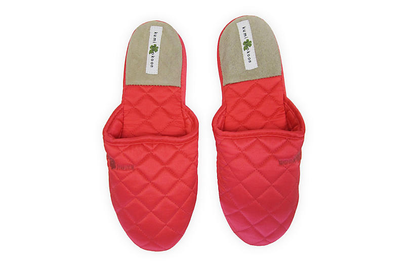 Quilted Slippers