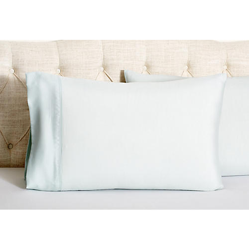 Kumi Basics Pillowcases, Morning Mist