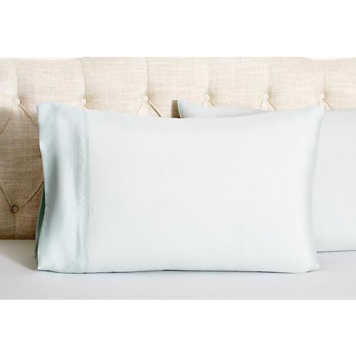 Kumi Basics Pillowcases, Morning Mist