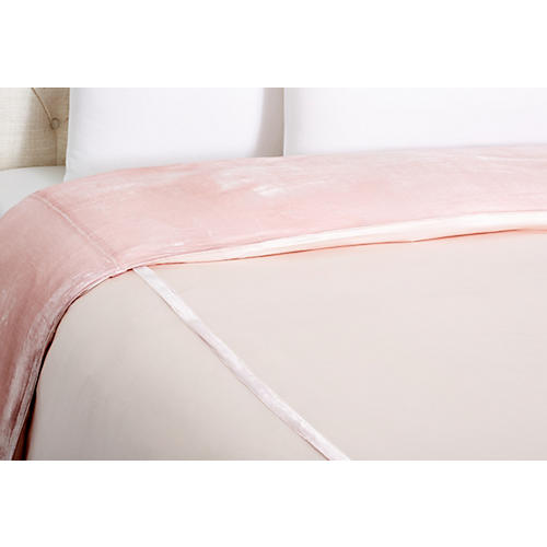 Velvet Duvet Cover, Cotton Candy