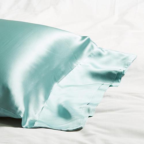 Classic Collection Pillowcase, Aquamarine