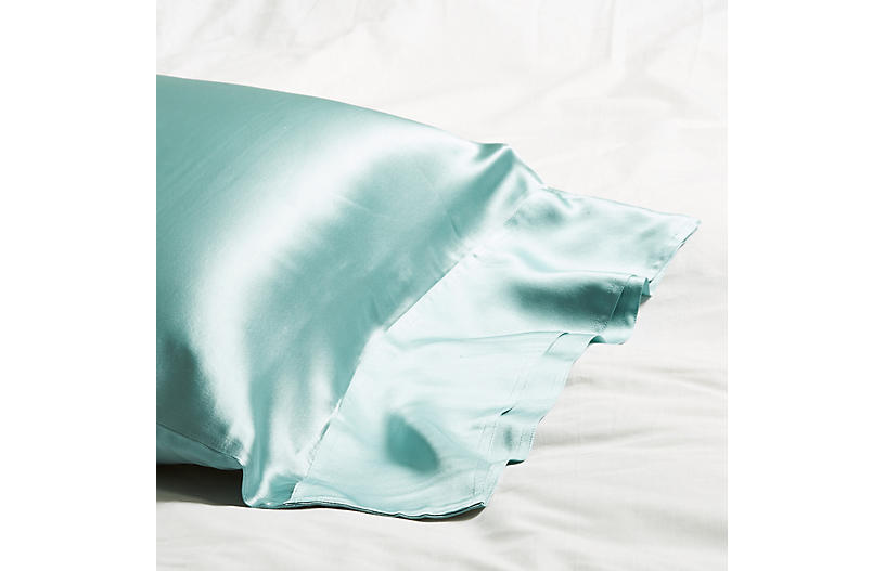Classic Collection Pillowcase, Aquamarine