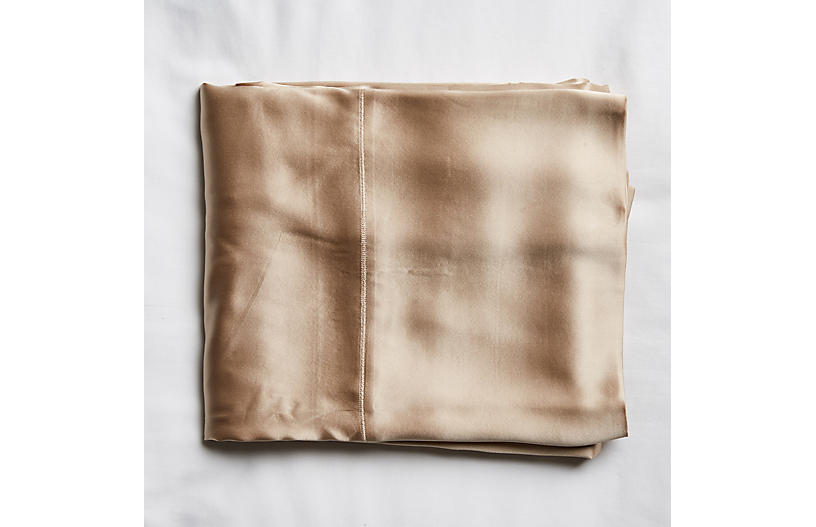 Classic Collection Flat Sheet, Toasted Almond