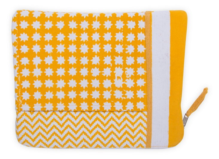 Stella Pad Cover, Yellow