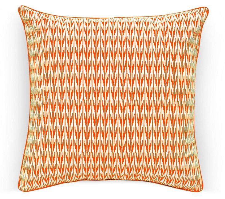 """26"""" Gin Pillow, Orange"""