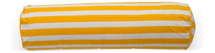 Flag Stripe Bolster, Yellow
