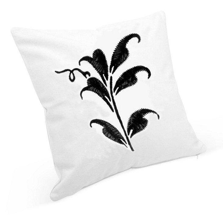 Mariko Dec Pillow Cover, Black