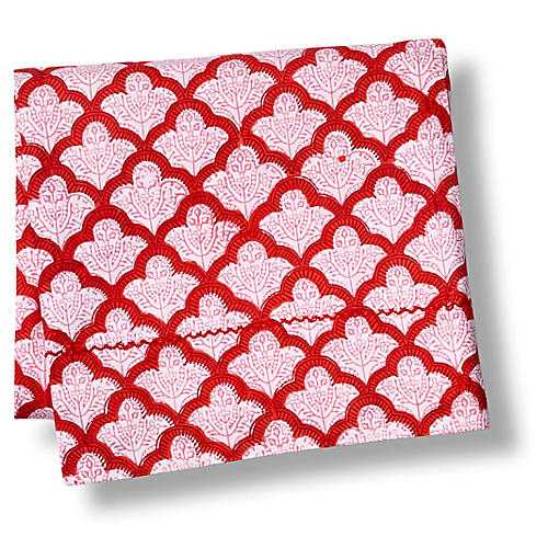 Jemina Flat Sheet, Red