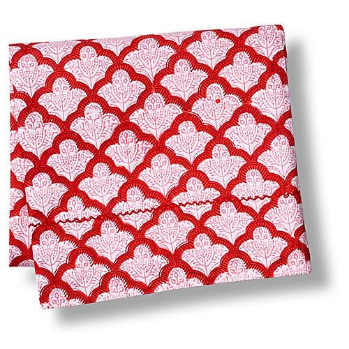 Jemina Flat Sheet, Red