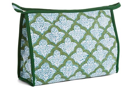 Jemina Vanity Bag, Verbena Green