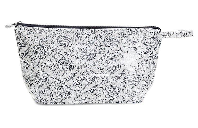 Ayong Toiletry Case - Navy/White - Roller Rabbit