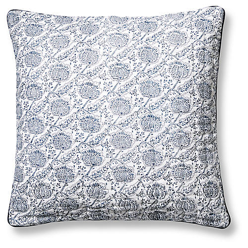 Ayong Quilted Pillow Cover, Night