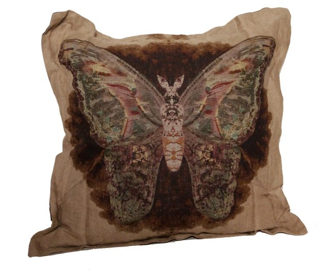 Winged Accent Pillow