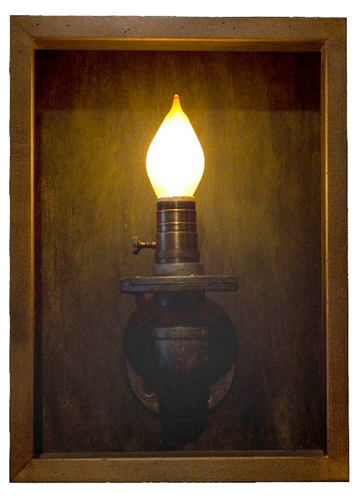 Flame Wall Sconce