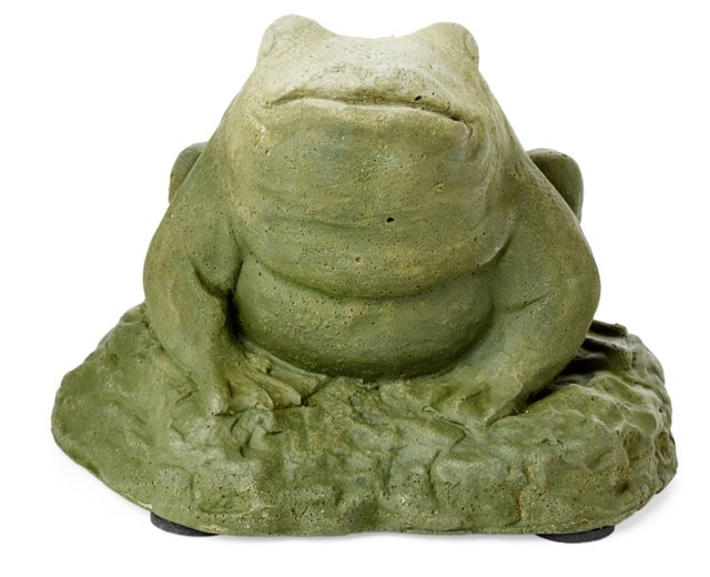 "5"" Cast Stone Frog"