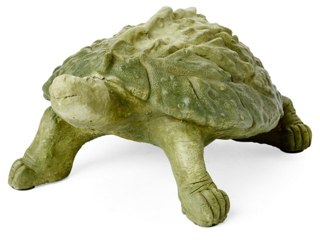 """6"""" Cast Stone Snapping Turtle"""