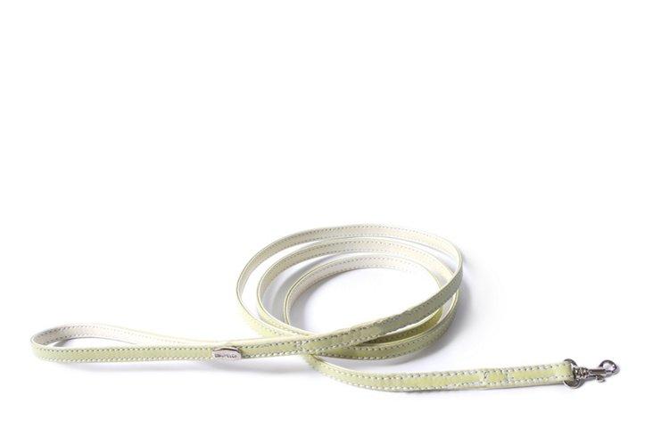 "Teacup Leash Sage Soft Calfskin - 60"""