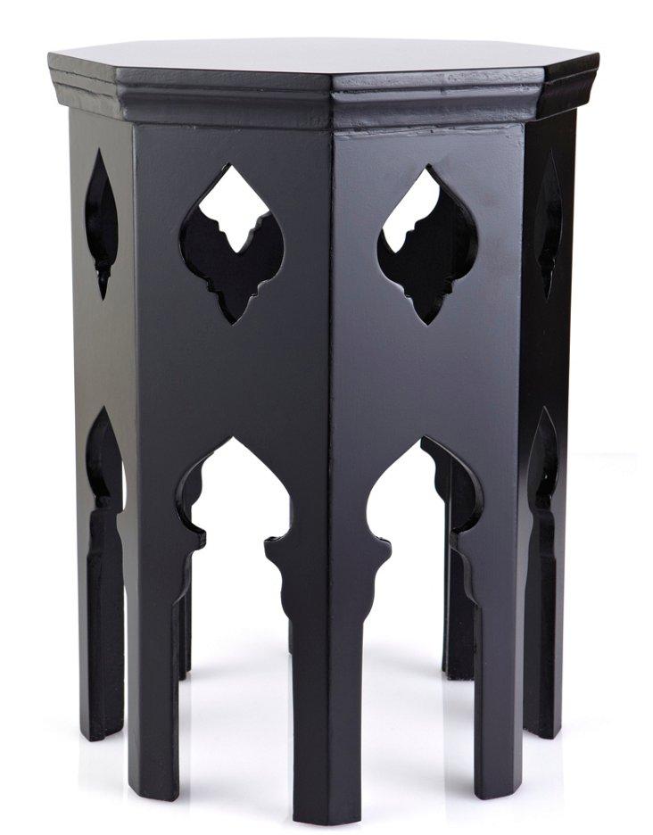 Tucker Octagonal Table, Black