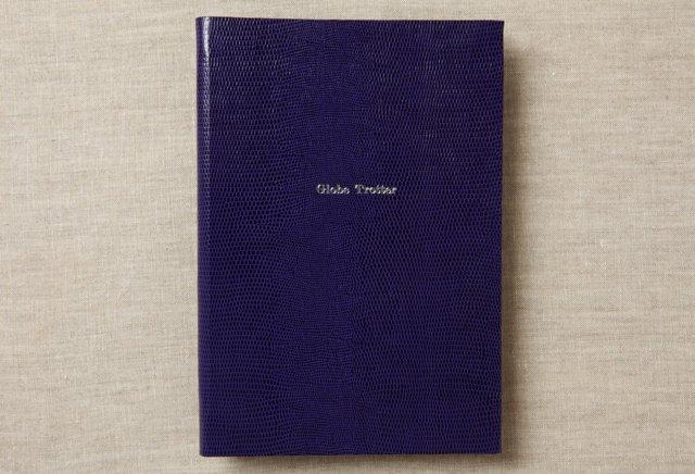"""Globe Trotter"" Journal, Purple"