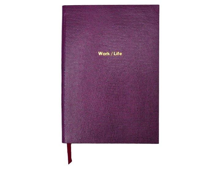"""Work/Life"" Journal, Mauve"
