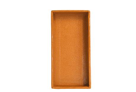 Small Desk Tray, Cognac