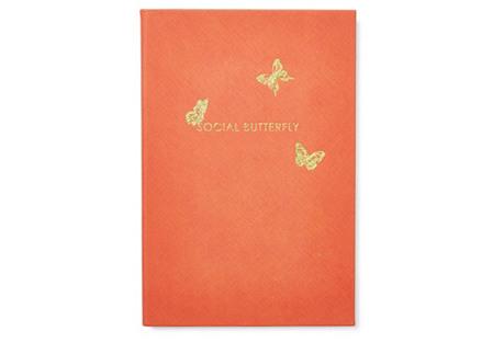 Social Butterfly Journal, Orange