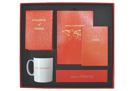 World Domination Desk-In-A-Box Set
