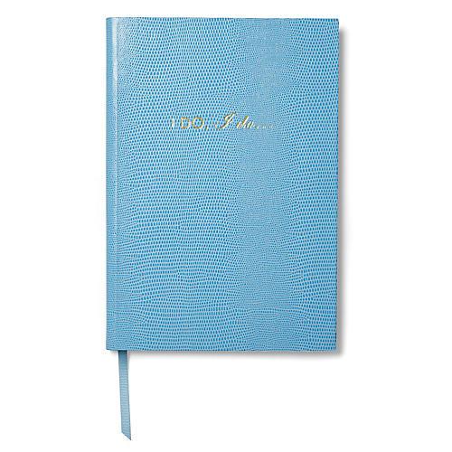 I Do, I Do Notebook, Baby Blue