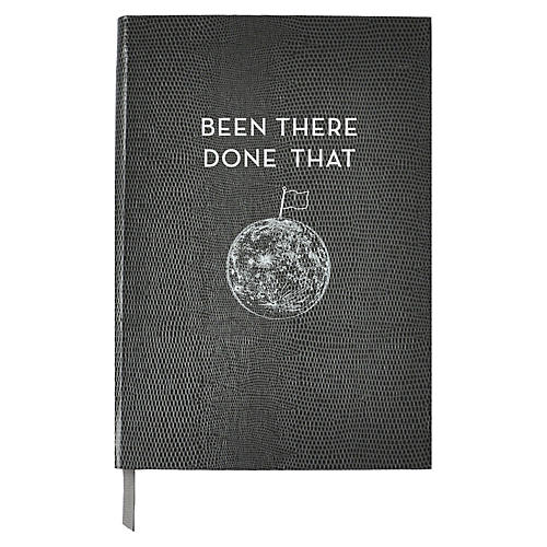 Been There, Done That Journal, Gray