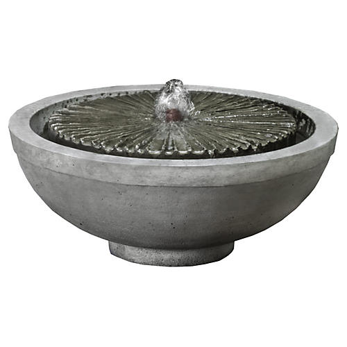 "16"" Equinox Garden Terrace Fountain"