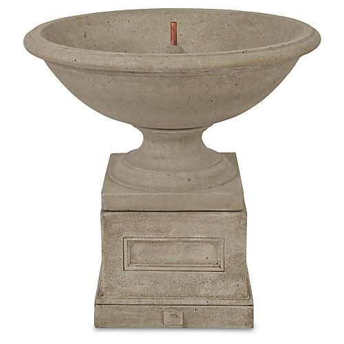 """34"""" Aurelia Fountain, Gray Stone"""