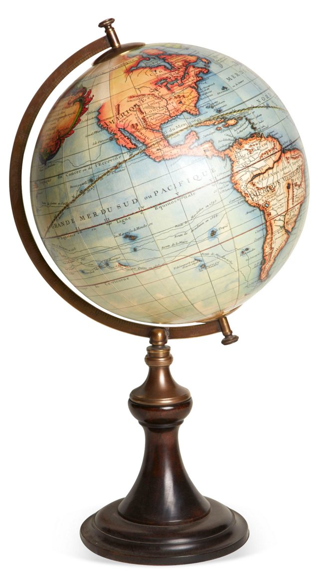 Classic Vaugondy Globe
