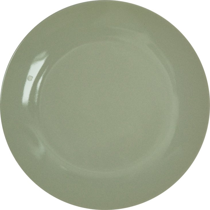 S/6 Falby DK Lunch Plates, Green
