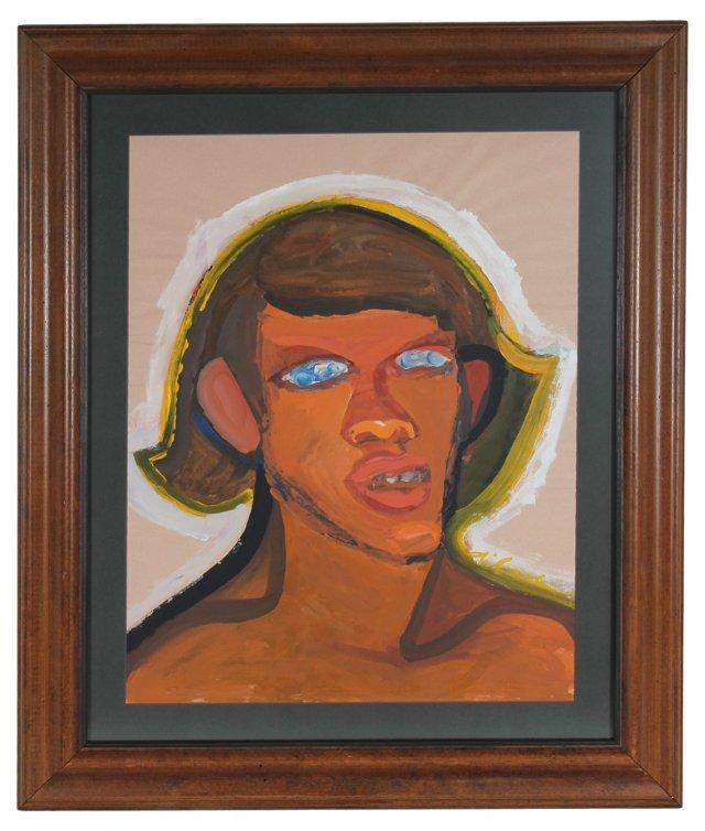 Expressionist Portrait, M. di Cosola