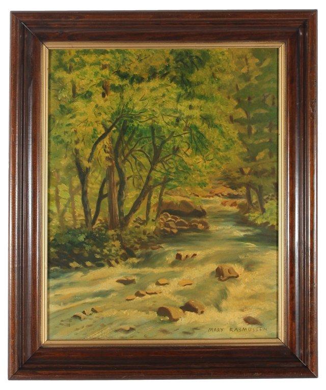 River Through the Forest, Rasmussen