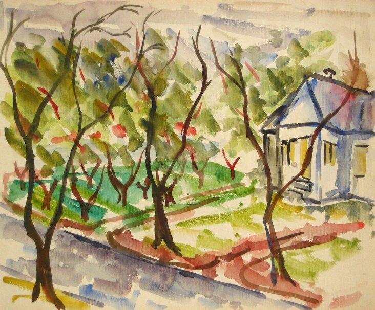 Midcentury Wingerden Tree-Lined Street