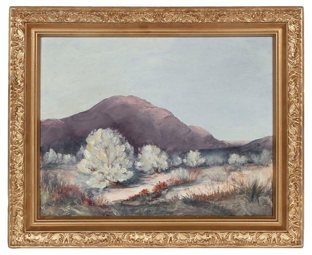 1966 Desert Scene Oil