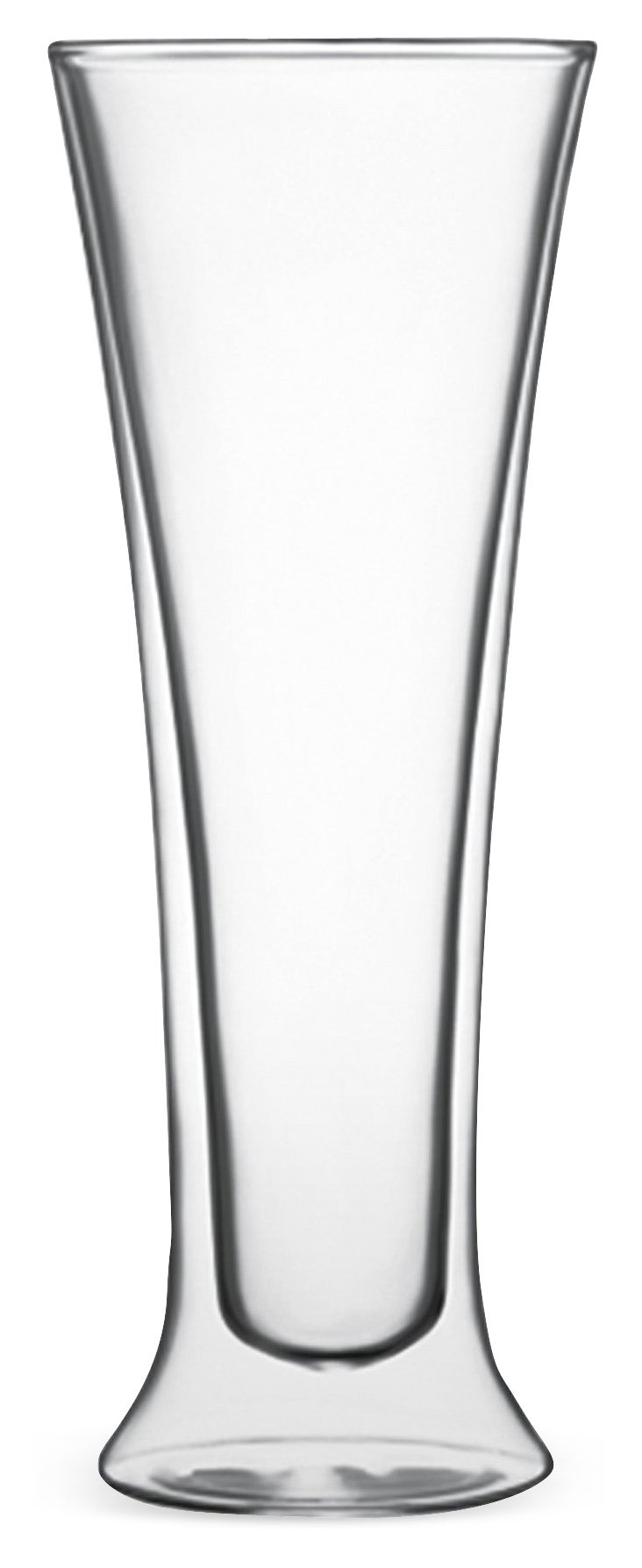 S/2 Double-Wall Pilsner Glasses