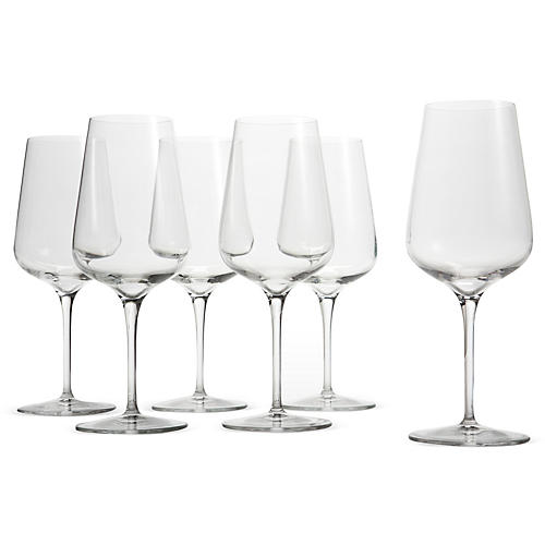 S/6 Red-Wine Glasses