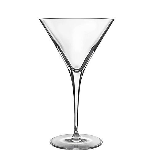 S/4 Crescendo Martini Glasses