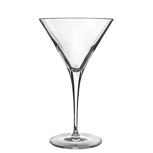 S/4 Crescendo Martini Glasses
