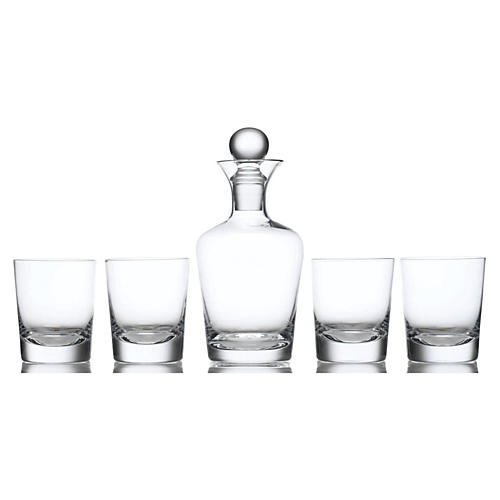 Bachelor 5-Piece Whiskey Set