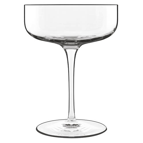 S/4 Sublime Champagne Glasses, Clear