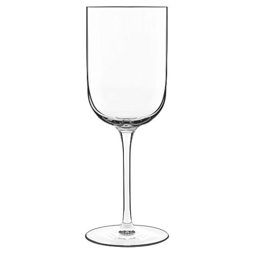 S/4 Sublime Red-Wine Glasses, Clear
