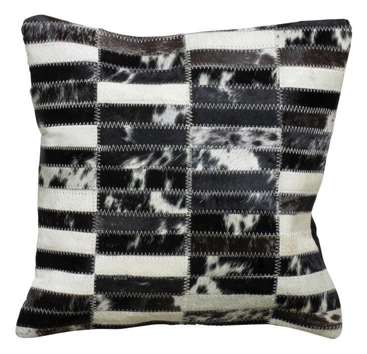 Pindos 20x20 Pillow, Black