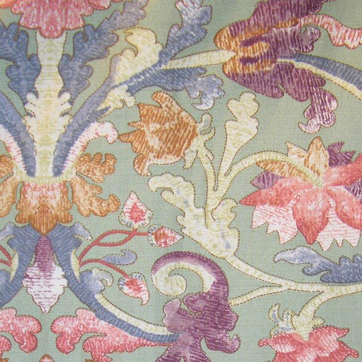 Mouret Cotton/Linen Fabric, Thyme