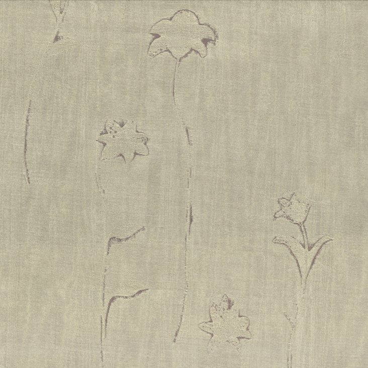 Orissa Silk Fabric, Platinum