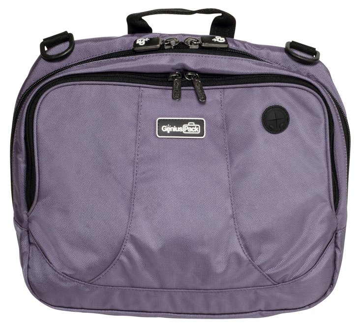 High Altitude Flight Bag, Plum