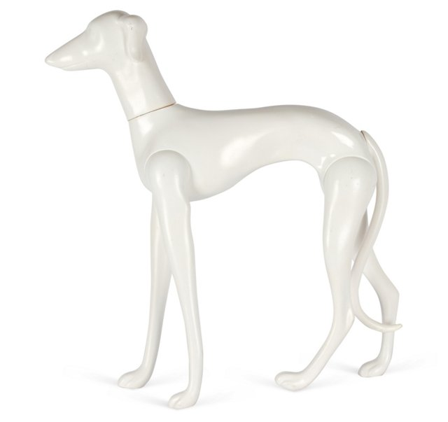 Movable Mannequin Dog
